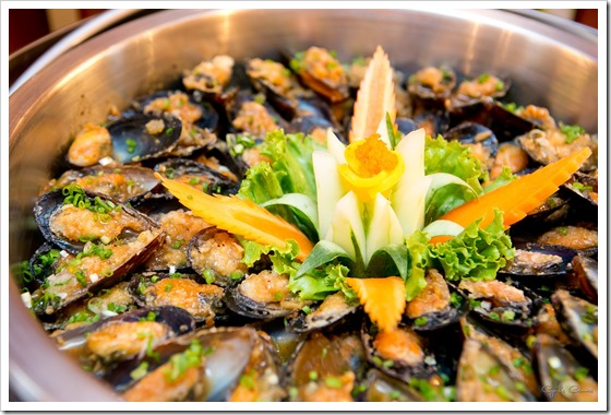 Mussels with home-made sauce